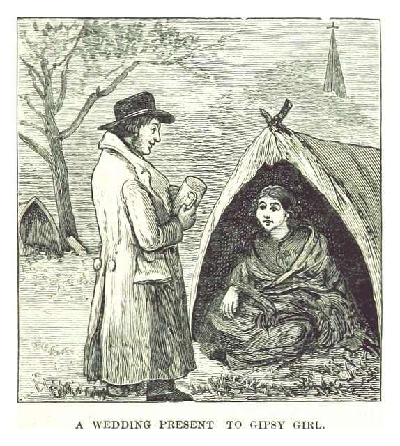 MORWOOD(1885) p155 A WEDDING PRESENT TO GIPSY GIRL