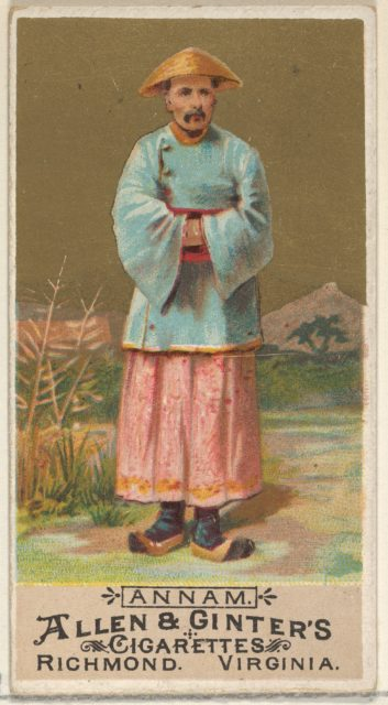 Annam, from the Natives in Costume series (N16) for Allen & Ginter Cigarettes Brands