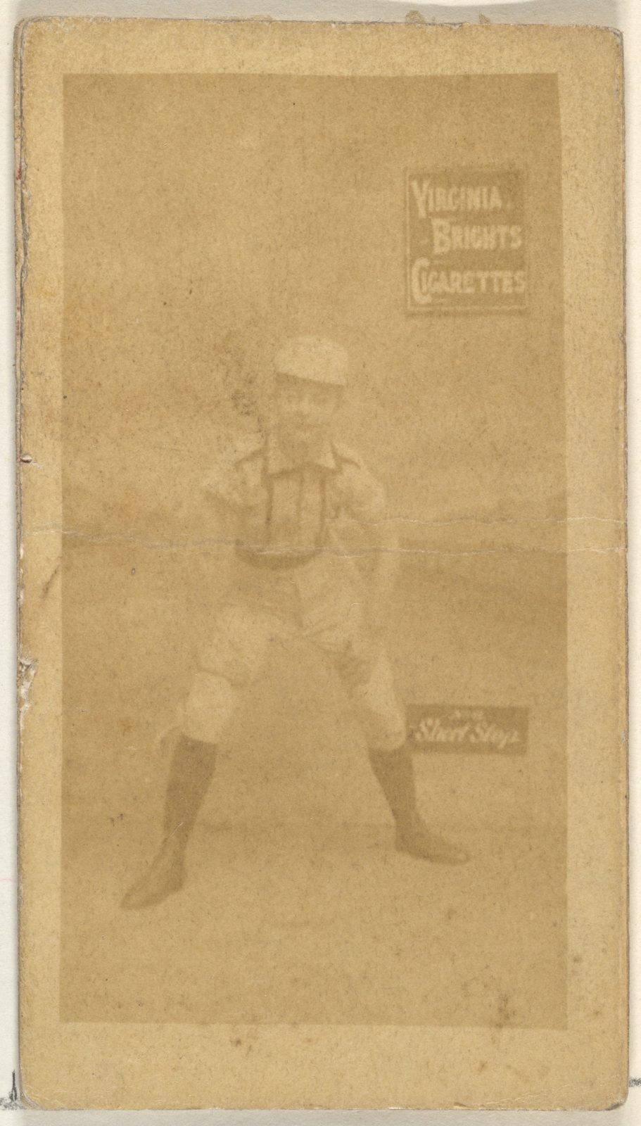 Shortstop, from the Girl Baseball Players series (N48, Type 2) for Virginia Brights Cigarettes