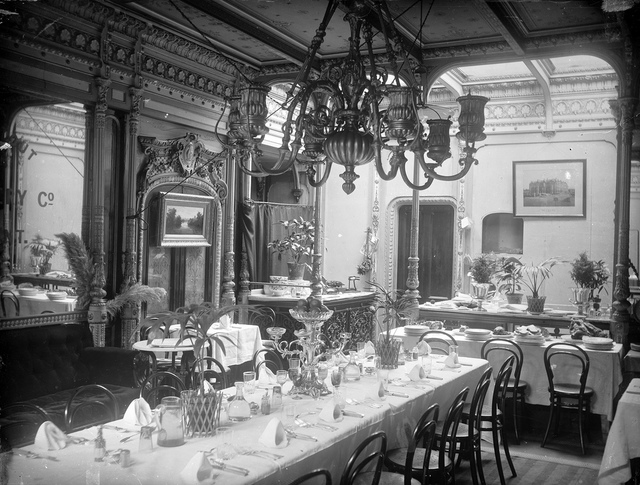 Dining Saloon on the S.S. Great Eastern