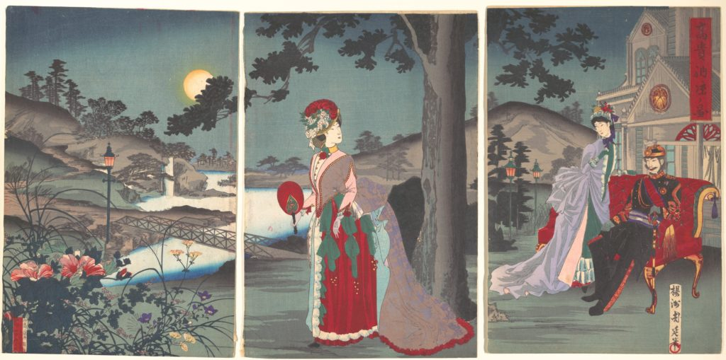 Nobility in the Evening Cool (Koki nōryō no zu)