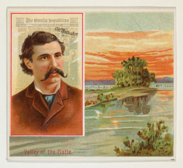 O.H. Rothaker, The Omaha Republican, from the American Editors series (N35) for Allen & Ginter Cigarettes