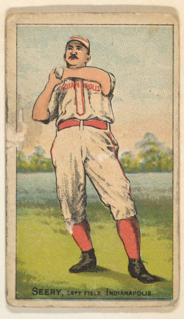 Seery, Left Field, Indianapolis, from the Gold Coin series (N284) for Gold Coin Chewing Tobacco