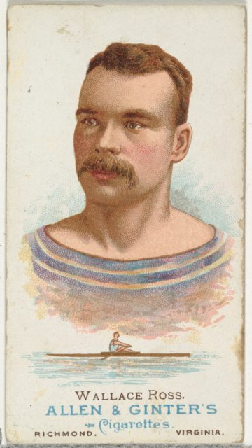 Wallace Ross, Oarsman, from World's Champions, Series 1 (N28) for Allen & Ginter Cigarettes