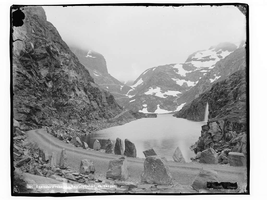 Gaarsvingerne paa Røldalsfjeldet, Hardanger - NB MS G4 0623