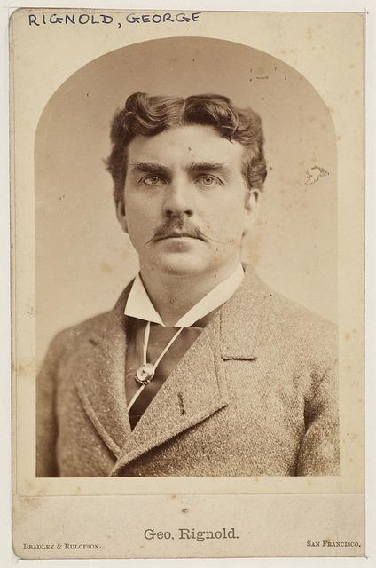 George Rignold, actor, [ca. 1887] / Bradley & Rulofson, ca. 1887