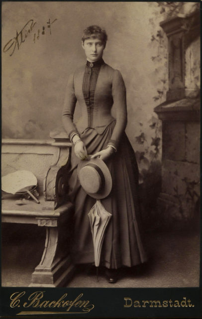 Princess Alix of Hesse . 1887.