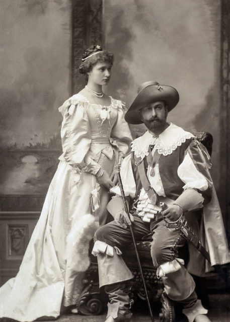 Prinsess Alix of Hesse and  Prince Louis Alexander of Battenberg