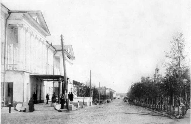 Vladimir - Bolshaya Nizhegorodskaya Street. 1910s