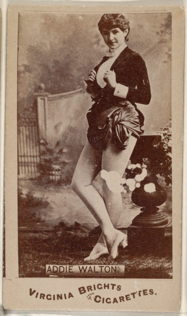 Addie Walton, from the Actors and Actresses series (N45, Type 1) for Virginia Brights Cigarettes