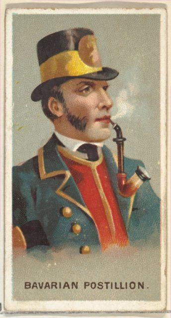 Bavarian Postillion, from World's Smokers series (N33) for Allen & Ginter Cigarettes