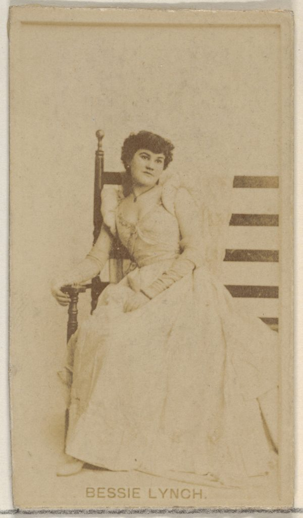 Bessie Lynch, from the Actors and Actresses series (N45, Type 8) for Virginia Brights Cigarettes
