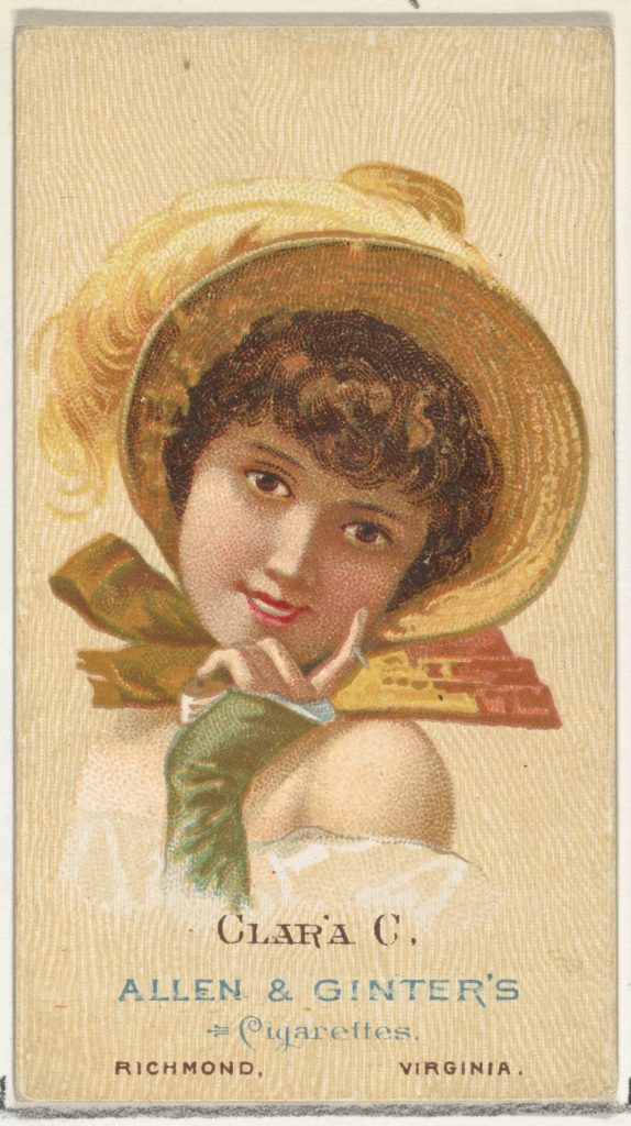 Clara C., from World's Beauties, Series 2 (N27) for Allen & Ginter Cigarettes