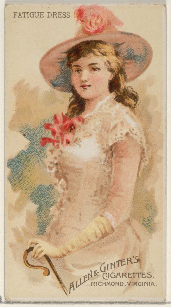 Fatigue Dress, from the Parasol Drills series (N18) for Allen & Ginter Cigarettes Brands