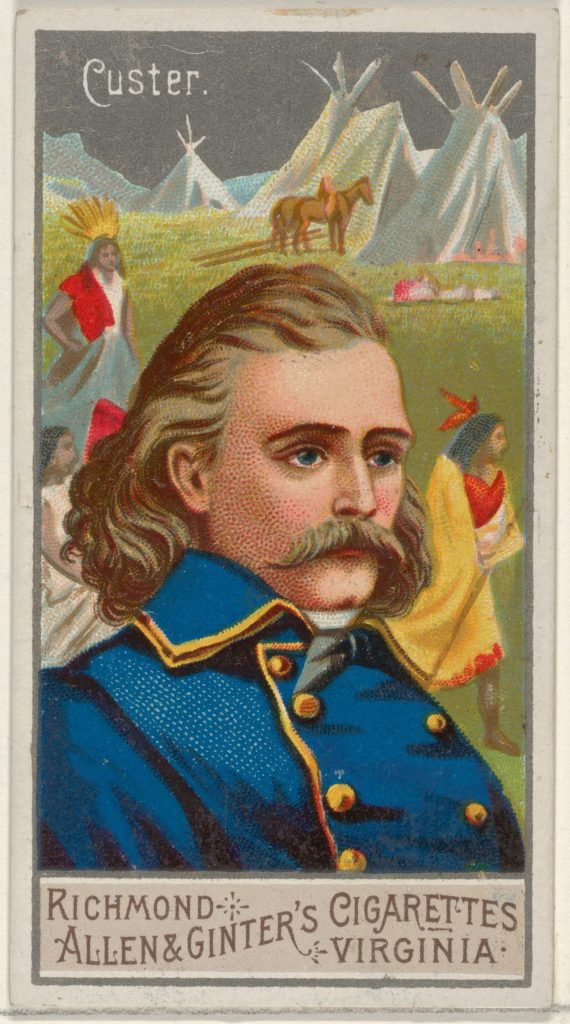George Armstrong Custer, from the Great Generals series (N15) for Allen & Ginter Cigarettes Brands