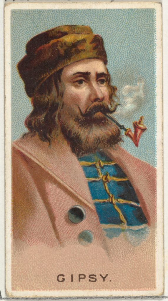 Gypsy, from World's Smokers series (N33) for Allen & Ginter Cigarettes