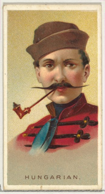 Hungarian, from World's Smokers series (N33) for Allen & Ginter Cigarettes