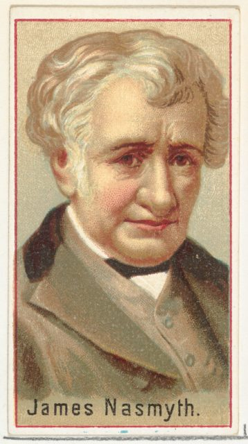 James Nasmyth, printer's sample for the World's Inventors souvenir album (A25) for Allen & Ginter Cigarettes