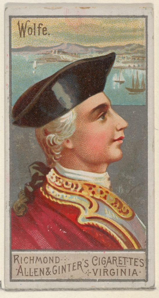 James P. Wolfe, from the Great Generals series (N15) for Allen & Ginter Cigarettes Brands