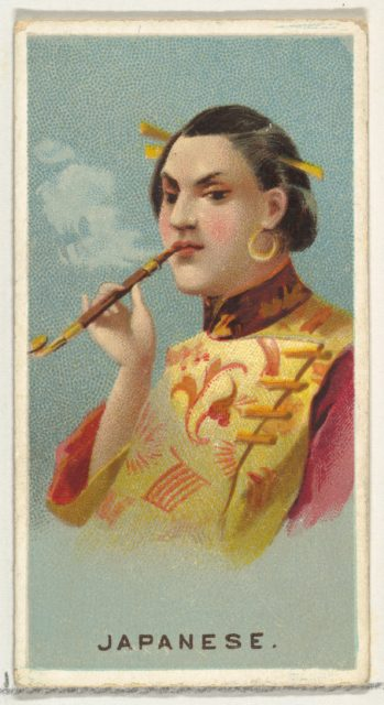Japanese, from World's Smokers series (N33) for Allen & Ginter Cigarettes