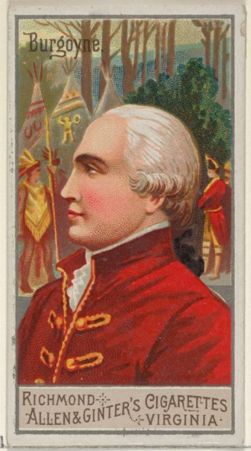 John Burgoyne, from the Great Generals series (N15) for Allen & Ginter Cigarettes Brands