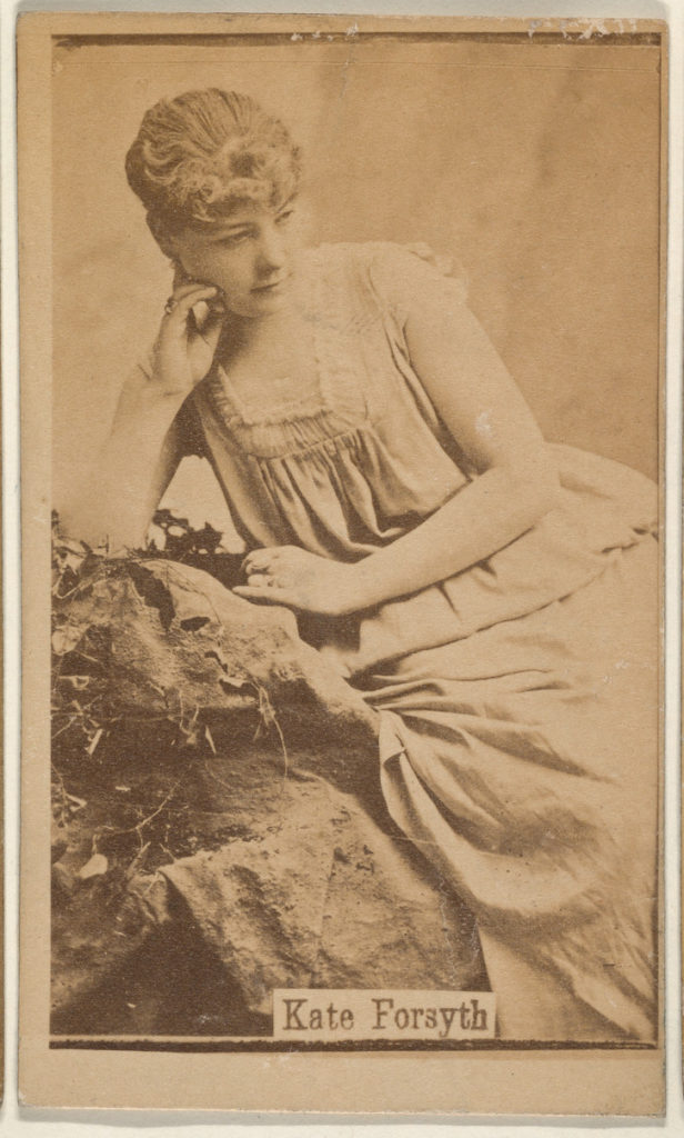 Kate Forsyth, from the Actresses series (N668)
