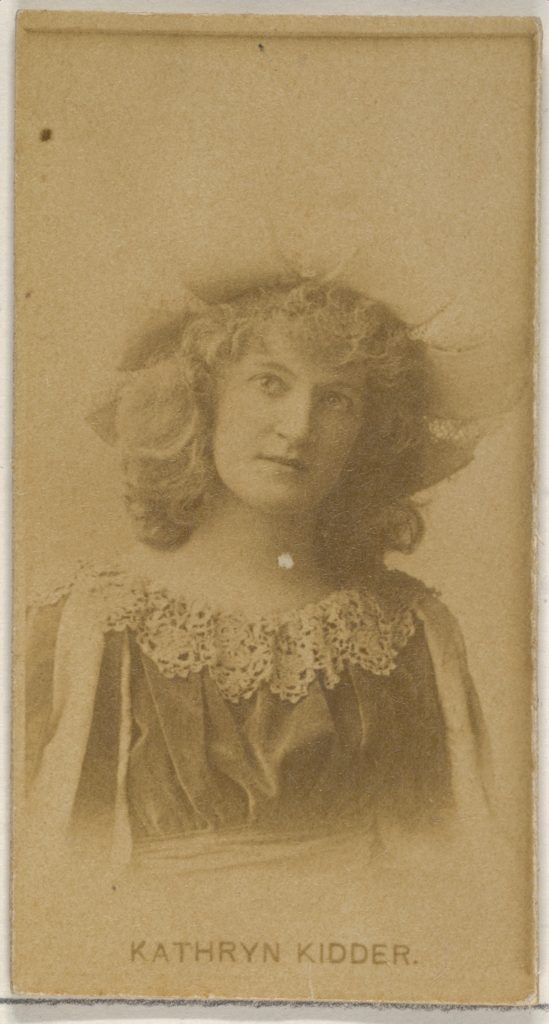 Kathryn Kidder, from the Actors and Actresses series (N45, Type 8) for Virginia Brights Cigarettes