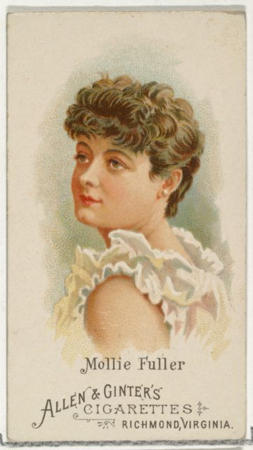 Mollie Fuller, from World's Beauties, Series 1 (N26) for Allen & Ginter Cigarettes