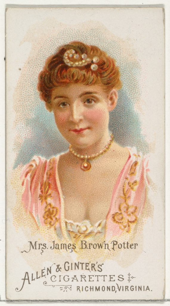 Mrs. James Brown Potter, from World's Beauties, Series 1 (N26) for Allen & Ginter Cigarettes