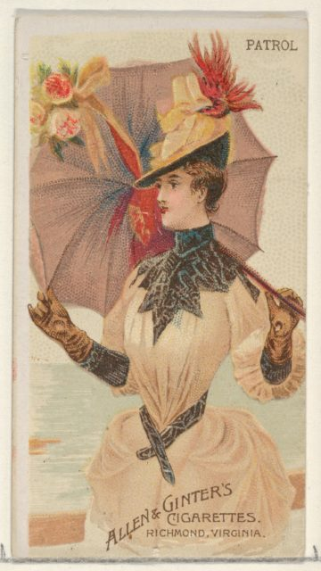 Patrol, from the Parasol Drills series (N18) for Allen & Ginter Cigarettes Brands