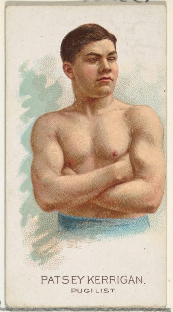 Patsey Kerrigan, Pugilist, from World's Champions, Series 2 (N29) for Allen & Ginter Cigarettes