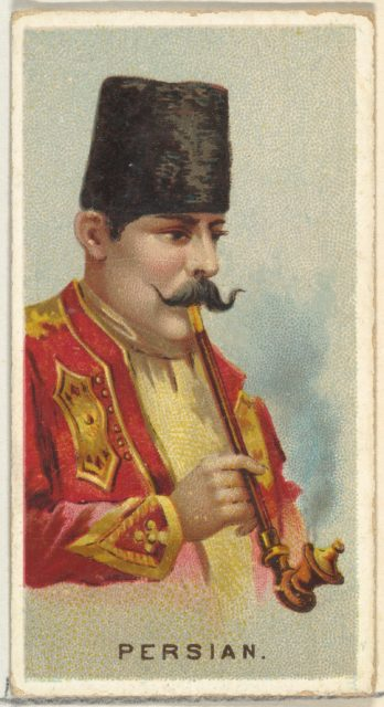 Persian, from World's Smokers series (N33) for Allen & Ginter Cigarettes