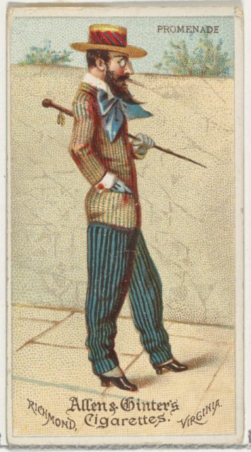 Promenade, from World's Dudes series (N31) for Allen & Ginter Cigarettes