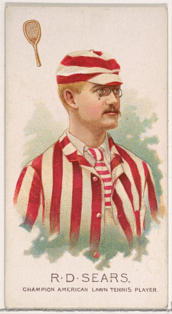 R.D. Sears, Champion American Lawn Tennis Player, from World's Champions, Series 2 (N29) for Allen & Ginter Cigarettes