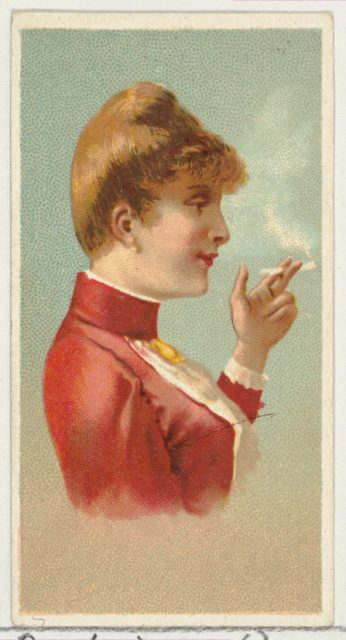 Russian Lady, printer's sample from World's Smokers series (N33) for Allen & Ginter Cigarettes
