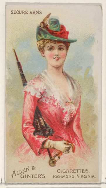 Secure Arms, from the Parasol Drills series (N18) for Allen & Ginter Cigarettes Brands