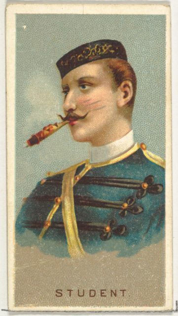 Student, from World's Smokers series (N33) for Allen & Ginter Cigarettes