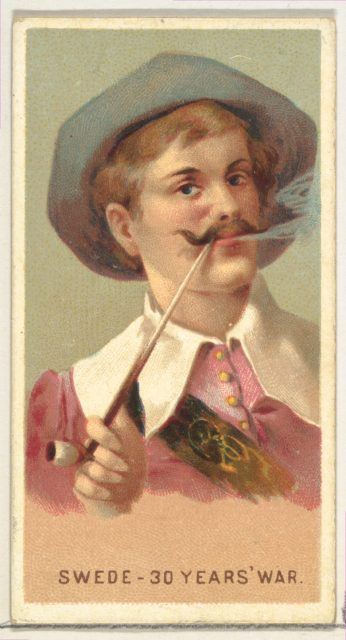 Swede in the 30 Years War, from World's Smokers series (N33) for Allen & Ginter Cigarettes