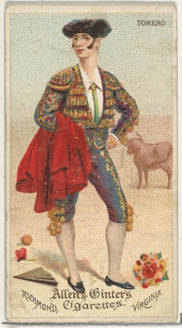 Torero, from World's Dudes series (N31) for Allen & Ginter Cigarettes