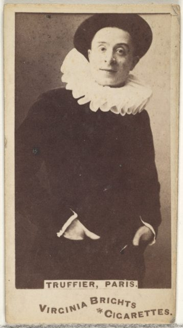 Truffier, Paris, from the Actors and Actresses series (N45, Type 1) for Virginia Brights Cigarettes
