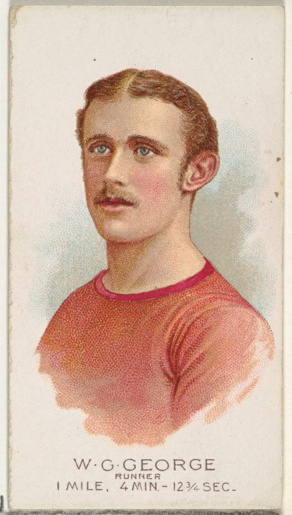 W.G. George, Runner, from World's Champions, Series 2 (N29) for Allen & Ginter Cigarettes
