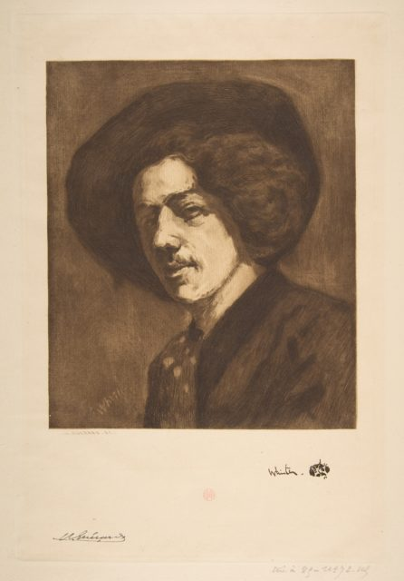 """Whistler's """"Portrait of Himself"""""""