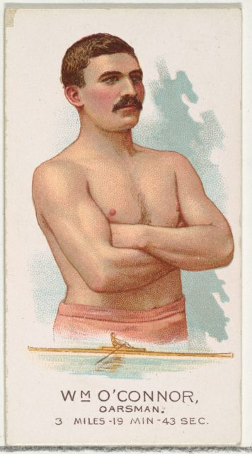 William O'Connor, Oarsman, from World's Champions, Series 2 (N29) for Allen & Ginter Cigarettes