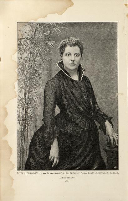 Annie Besant: an autobiography1888