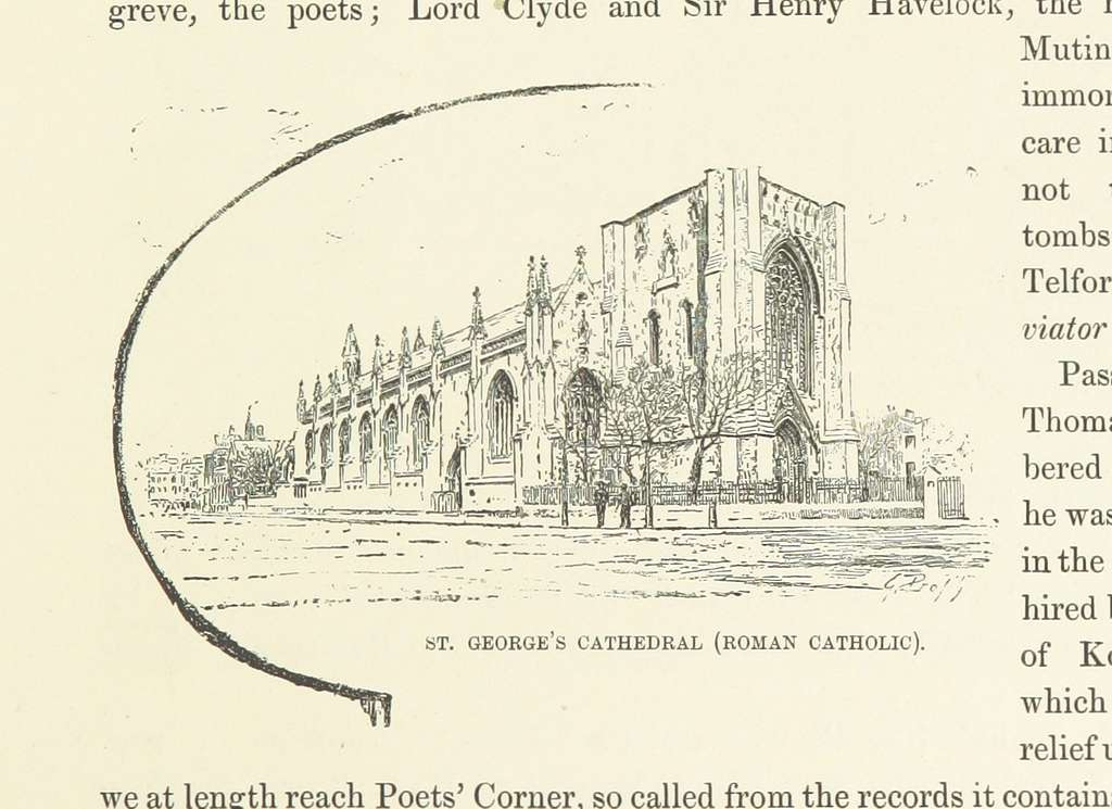 Image taken from page 121 of 'London and its Environs. A picturesque survey of the metropolis and the suburbs ... Translated by Henry Frith. With ... illustrations' (11290786806)