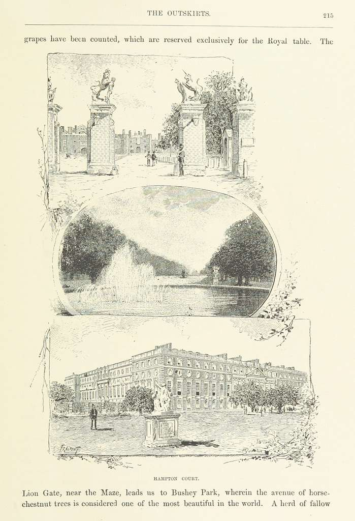 Image taken from page 227 of 'London and its Environs. A picturesque survey of the metropolis and the suburbs ... Translated by Henry Frith. With ... illustrations' (11195529513)