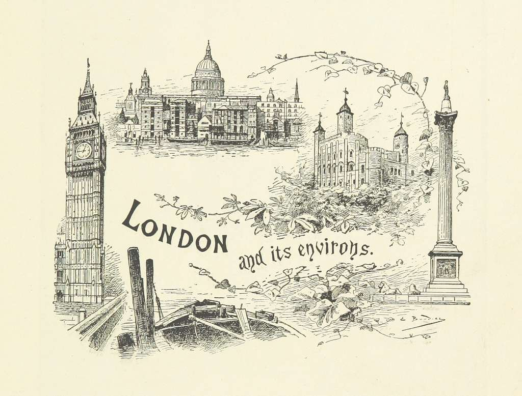 Image taken from page 5 of 'London and its Environs. A picturesque survey of the metropolis and the suburbs ... Translated by Henry Frith. With ... illustrations' (11192981555)