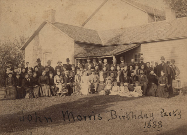 John Morris Birthday Party, 1888