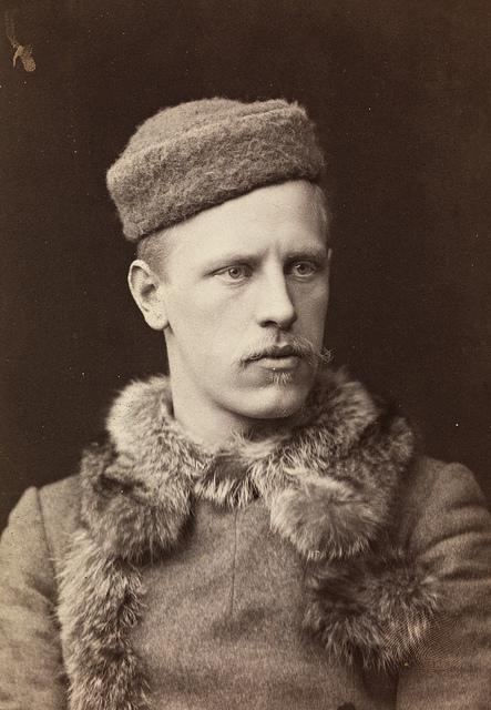 Portrett av Fridtjof Nansen, 1888