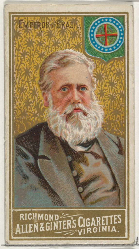 Emporer of Brazil, from World's Sovereigns series (N34) for Allen & Ginter Cigarettes
